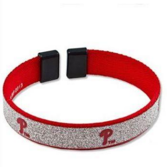 Philadelphia Phillies Sparkle Cuff Bracelet