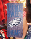 Philadelphia Eagles Home Sweet Home Sign