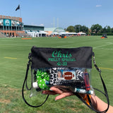 "Philadelphia Eagles Monogrammed ""Philly Special"" Clear Game Day Stadium Bag"