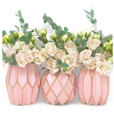 Rose Vase Wraps By Lucy Grymes