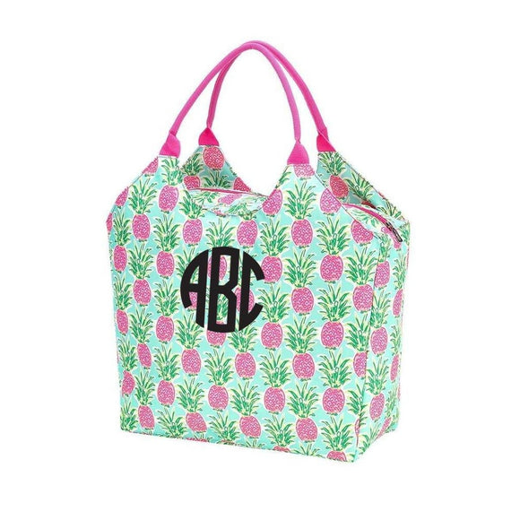 Viv & Lou Sweet Paradise Beach Tote Personalized