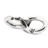 X By Trollbeads Bug Me Double Link Silver