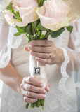 Bridal Memorial Bouquet Charm