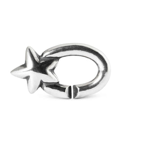 X By Trollbeads My Lucky Star Single Link Silver