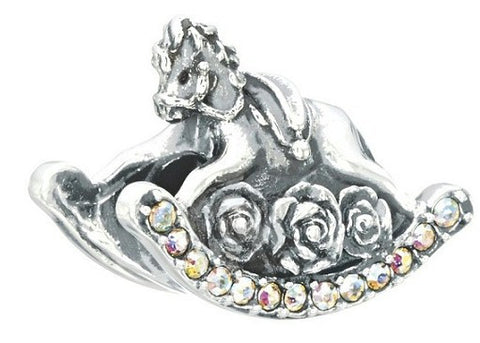 Chamilia Rock On - Rocking Horse Charm