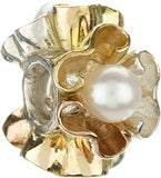 Chamilia Pearl Petals Mixed 14K Gold & Sterling Silver Charm