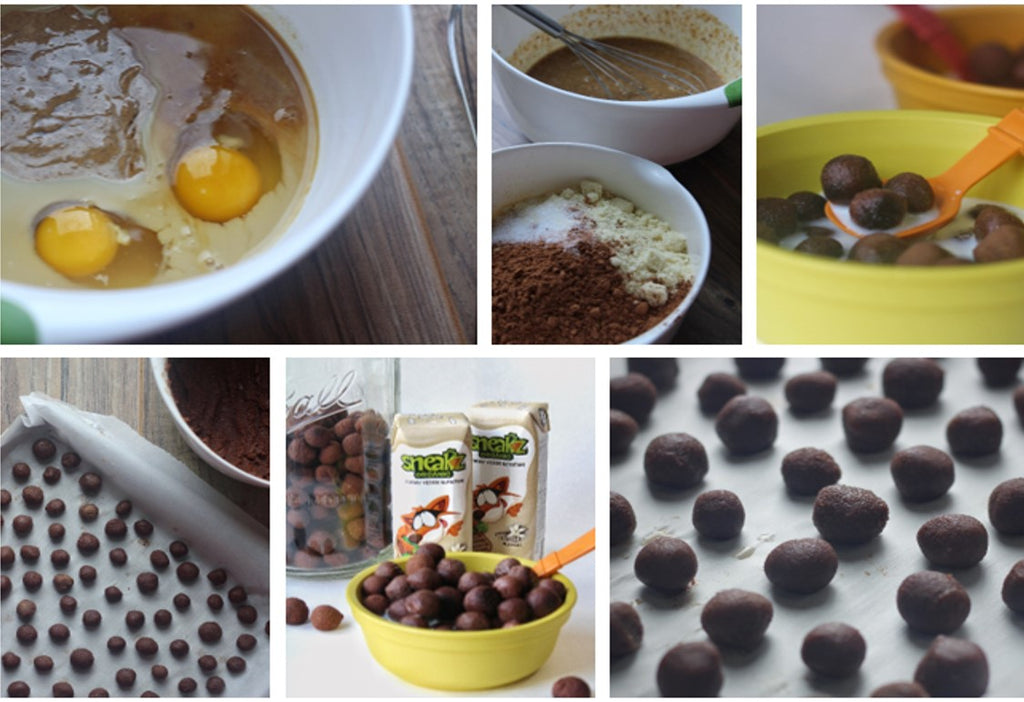 Sneakz homemade chocolate cereal how to make it ccuart Choice Image