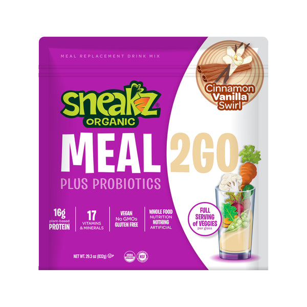 10-Pack Meal2GO Complete Nutrition Shake- Cinnamon Vanilla Swirl