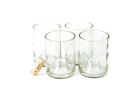 Clear 12oz Original Wine Punt Recycled Glasses