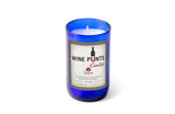 Sangria Scented Wine Punt Candle In Recycled WIne Bottle Glass