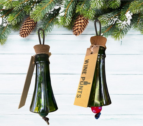 Wine Top Christmas Ornament