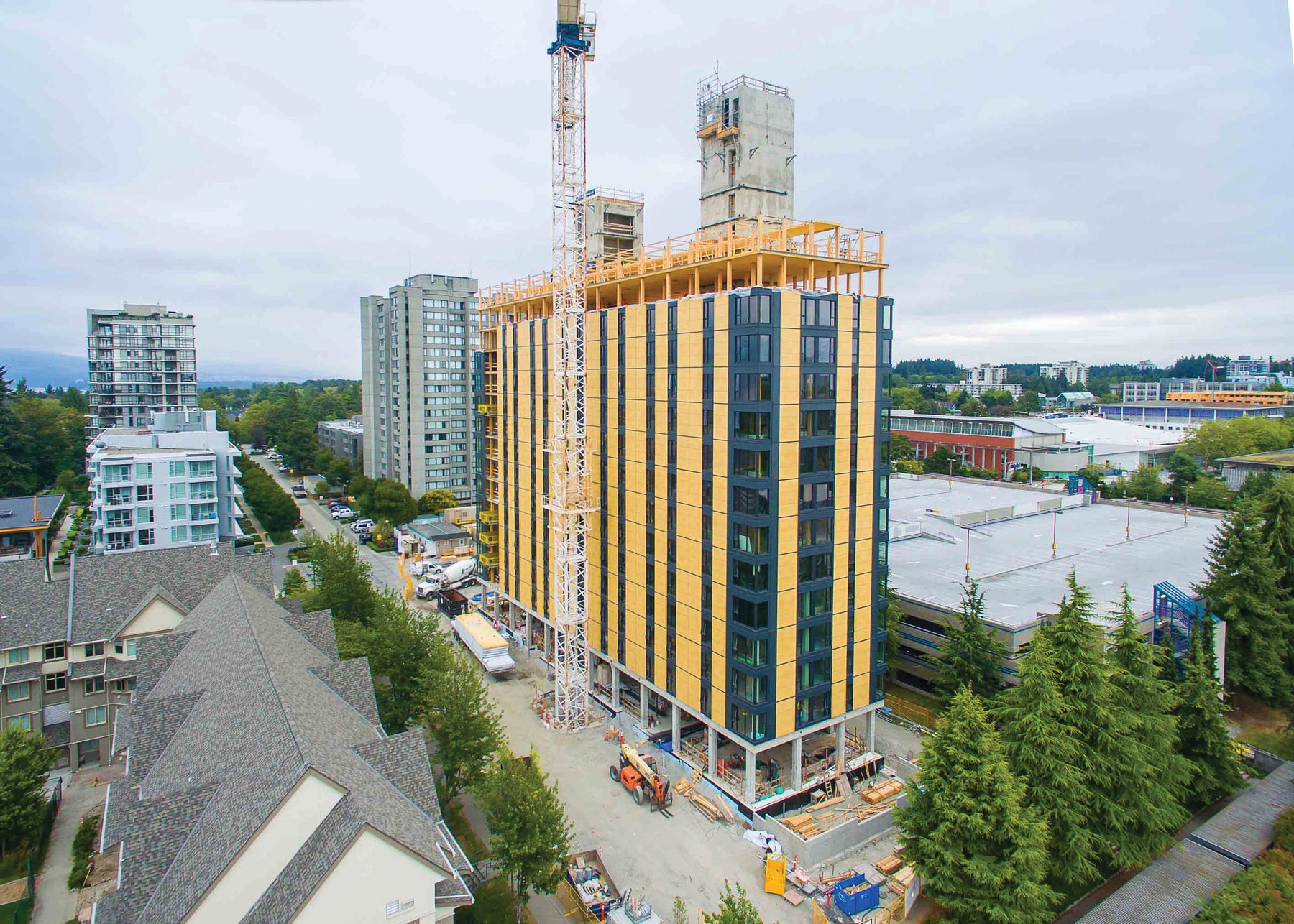 UBC'S BROCK COMMONS: STUDENT RESIDENCE
