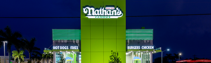 Nathan's Famous opens newly branded store in Florida