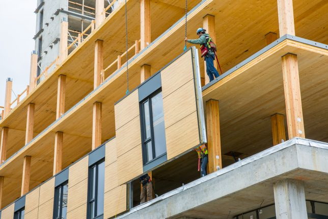 Prefabricated Panels Help UBC's Brock Commons Tallwood House Rise To The Top