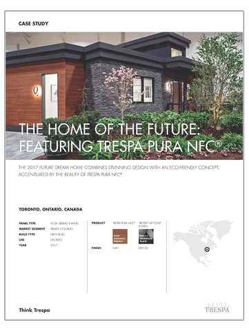 Future Dream Home Trespa Pura - Case Study