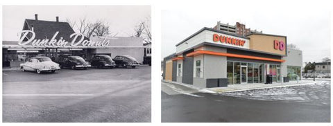 New Dunkin Donuts Store Concept Store Clad With Trespa