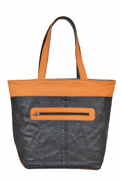 Borsa Shopping in Pelle Riciclata Heavy Bag