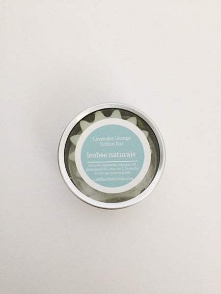 Travel Lotion Bar: Leabee Naturals