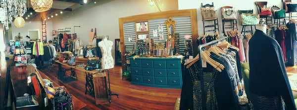 Photo of interior of juniper & mae boutique sister store