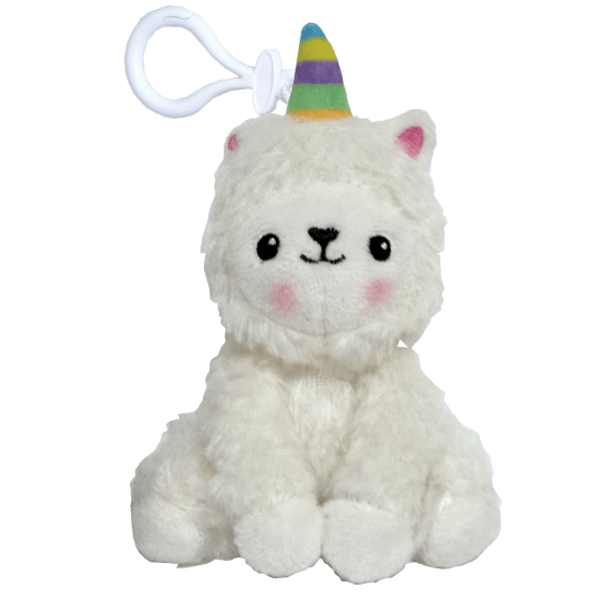 Llamacorn Scented Clip-On Squishem - The Milk Moustache