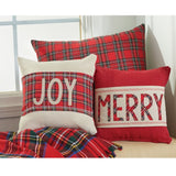 Tartan Holiday Pillow Wraps - The Milk Moustache
