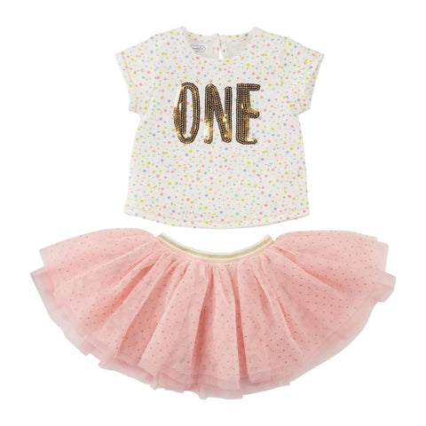 One Birthday Skirt Set - The Milk Moustache