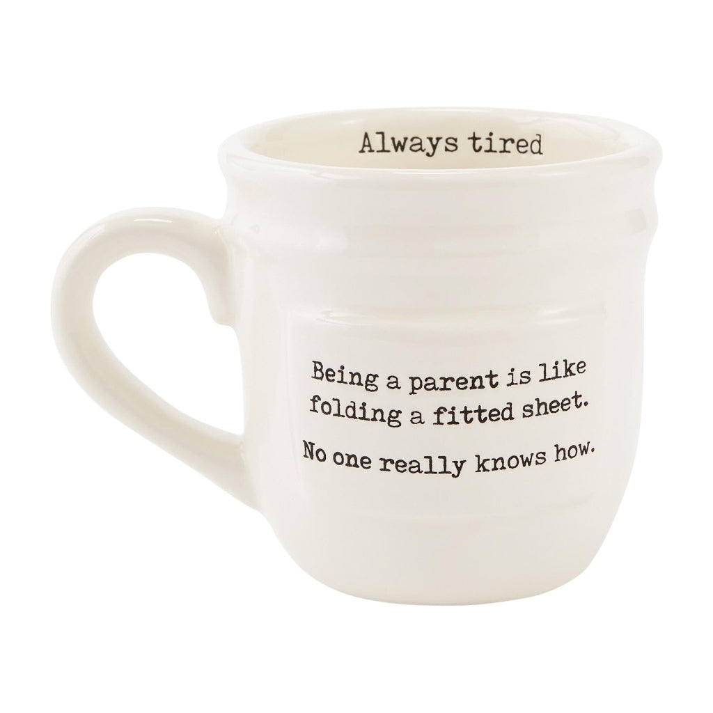 Always Tired Parent Mug - The Milk Moustache