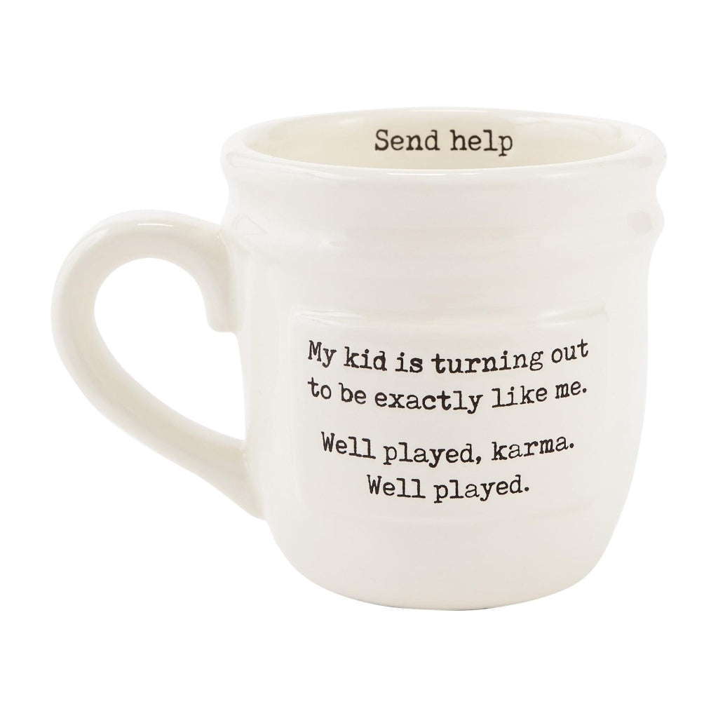 Send Help Parent Mug - The Milk Moustache