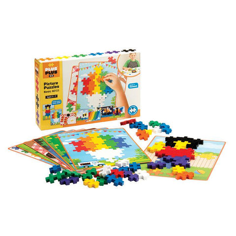 Plus-Plus Construction Toy - BIG Picture Puzzles (Pastel Available)