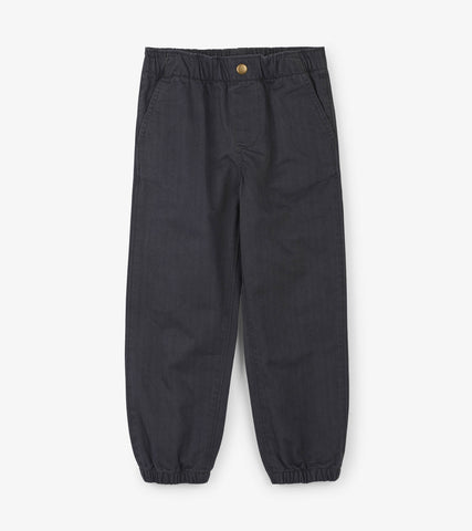Hatley Charcoal Melange Jogger - The Milk Moustache
