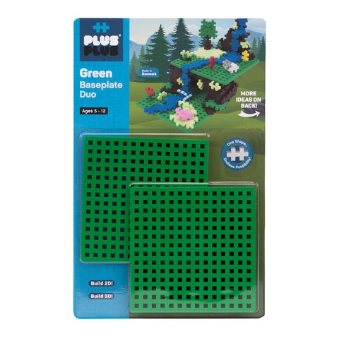 Plus-Plus Construction Toy - Baseplate Duo