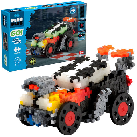 Plus-Plus Construction Toy - Go! Hot Rod