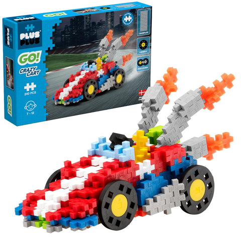 Plus-Plus Construction Toy - Go! Crazy Cart