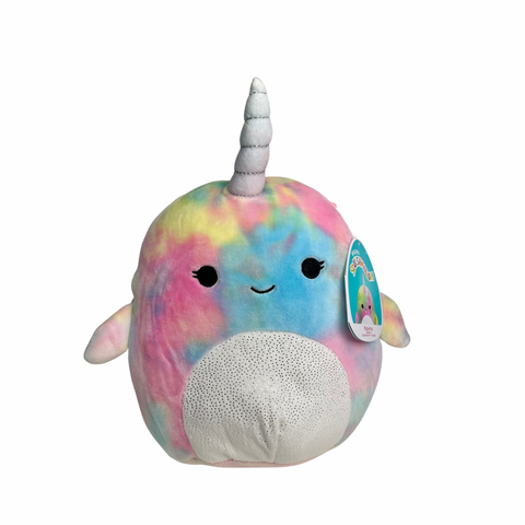 "8"" Navina Narwhal Squishmallow - The Milk Moustache"