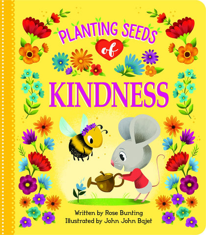 Planting Seeds of Kindness Board Book - The Milk Moustache