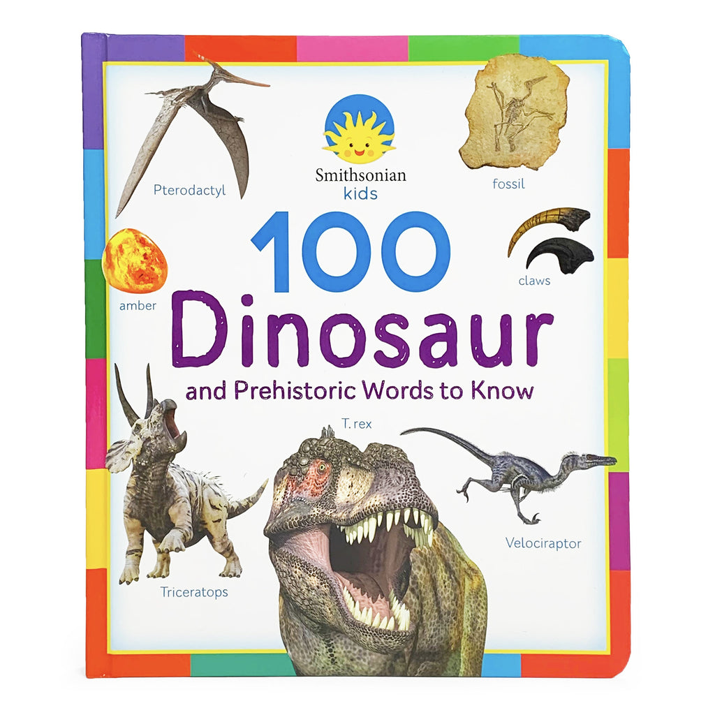 Smithsonian Kids: 100 Dinosaur and Prehistoric Words to Know Book - The Milk Moustache