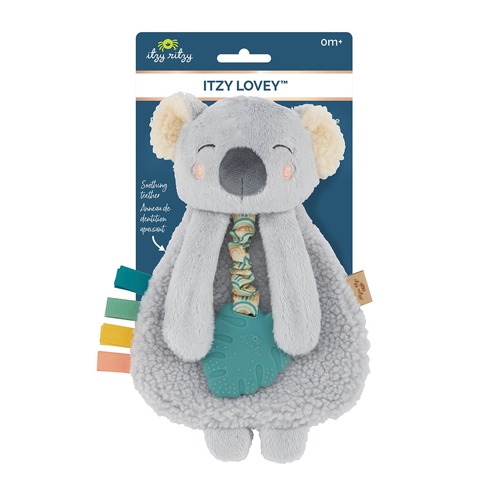 Itzy Ritzy - Plush with Silicone Teether Toy - Koala - The Milk Moustache