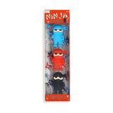 Ooly Ninja Erasers - Set of 3 - The Milk Moustache