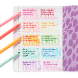 Pastel Mints Scented Flextip Highlighters - Set of 10 - The Milk Moustache
