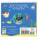 Baby Shark Plush Finger Puppet Book - The Milk Moustache