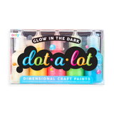 Dot-A-Lot Craft Paint Set of 5 - Glow in the Dark - The Milk Moustache