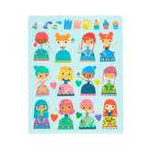 Play Again! Reusable Sticker Scenes - Princess Garden