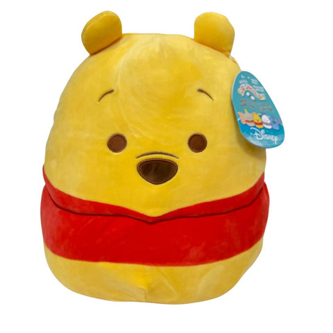 "12"" Squishmallow Pooh Bear - The Milk Moustache"
