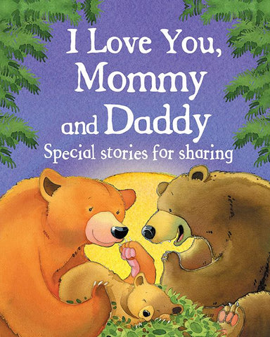 I Love You, Mommy and Daddy Picture Book - The Milk Moustache