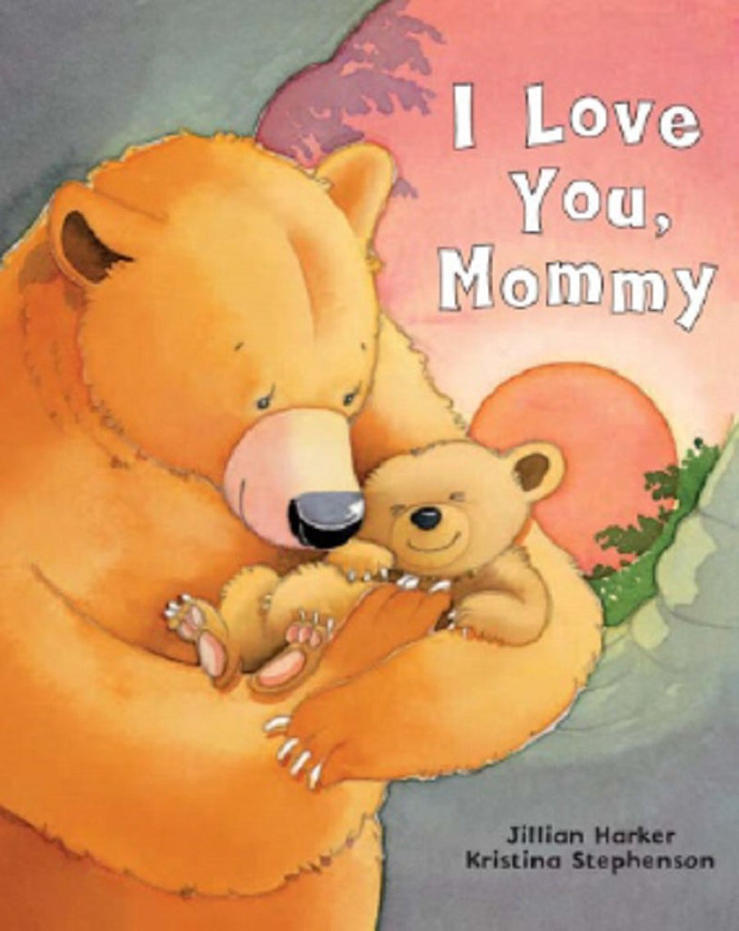 I Love You, Mommy Picture Book - The Milk Moustache
