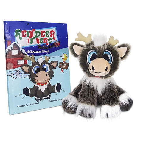 Reindeer In Here Plush & Book Set