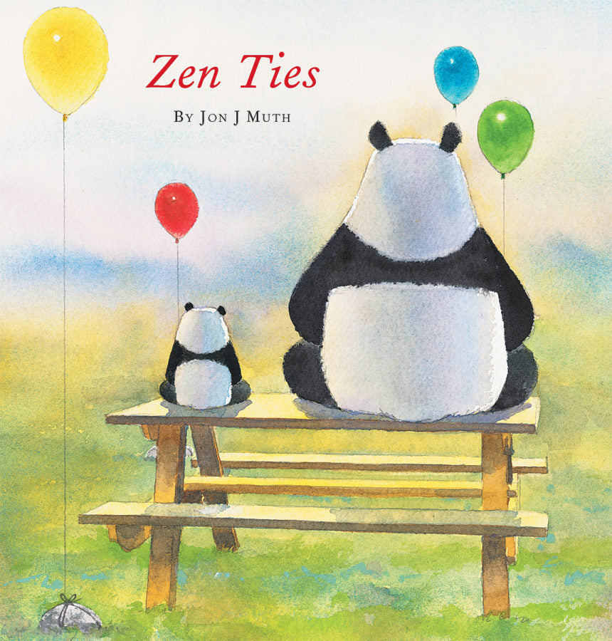 Zen Ties Picture Book - The Milk Moustache