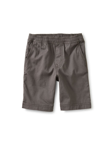 Tea Collection Easy Does It Twill Shorts in Thunder - The Milk Moustache