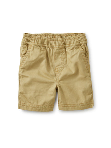 Tea Collection Easy Does It Twill Shorts in Sparrow - The Milk Moustache