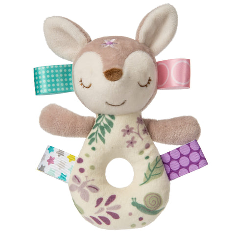 Taggies Flora Fawn Rattle - The Milk Moustache